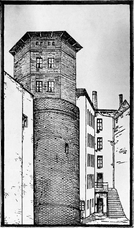 Baszta 7-Płaszczy, rys.art. nn, XXw. (MNS/A.Foto/14726; Szczecin)