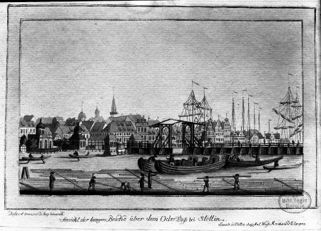 Most Długi; akwaf. FA.Sckeureck, 1790 (MNS/A.Foto/5312; Szczecin)