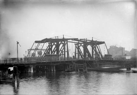 Most Kłodny od SW; ok. 1883; (MNS/A.Foto/5316; \Szczecin)