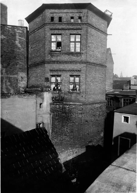 Mury obronne z basztą 7-płaszczy/ Baumstr. 29/30. (MNS/A.Foto/13673; Szczecin)